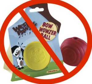 Bow Wowzer balls are no longer available
