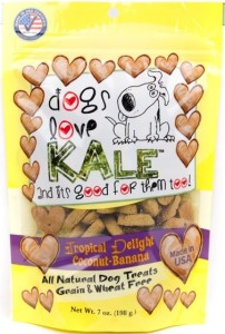 Buy Dogs Love Kale Tropical Delight biscuits