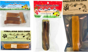 Himalayan Dog Chews older labels