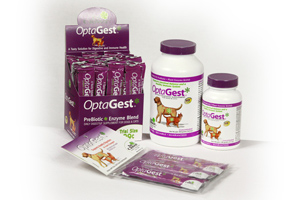A prebiotic feeds and strengthens your pet's natural digestive enzymes.